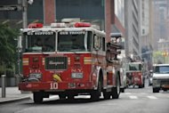 New York firefighters respond to reports of a fire at One World Trade Center. Dozens of New York firefighters rushed to the World Trade Center skyscraper after a member of the public mistook welding for a fire