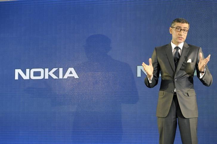 Nokia's network unit beats on N. America growth