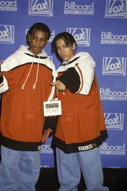 Kriss Kross at the Billboard Music Awards in Los Angeles, USA on December 8, 1992 -- Getty Images