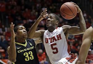 Washburn leads Utah past No. 19 Oregon 72-62