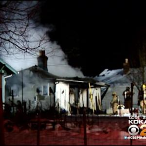 Indiana Township Home Destroyed By Fire