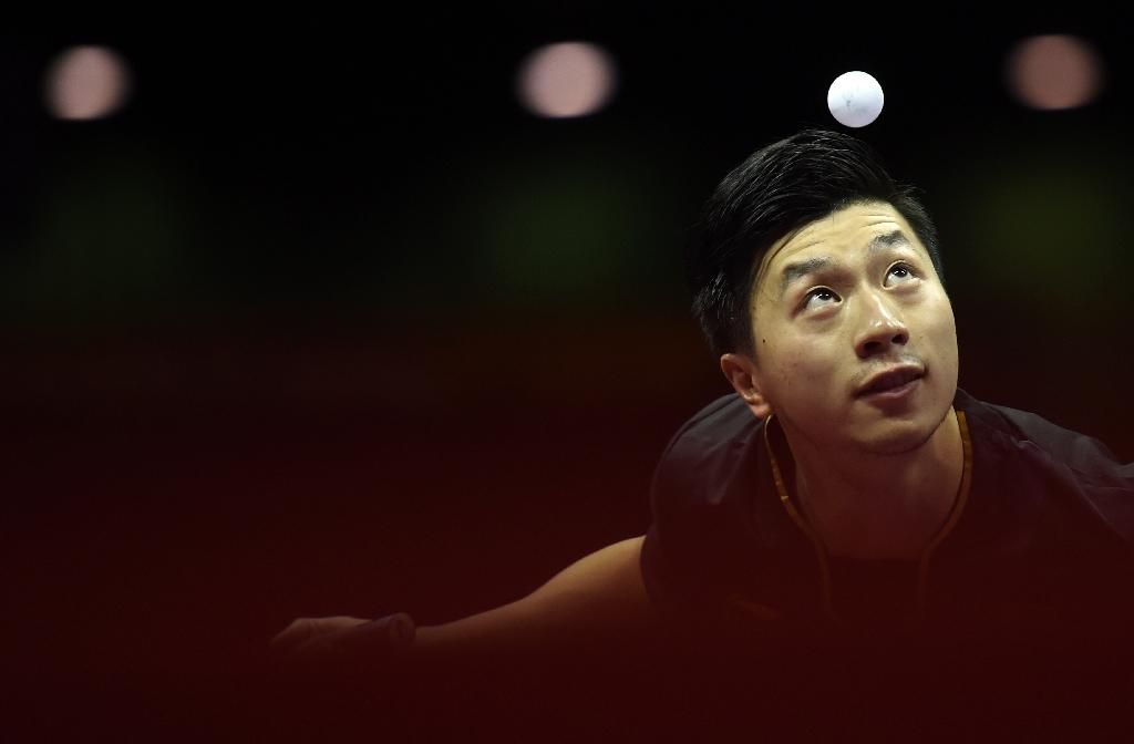 Ma wins men's singles at world championships