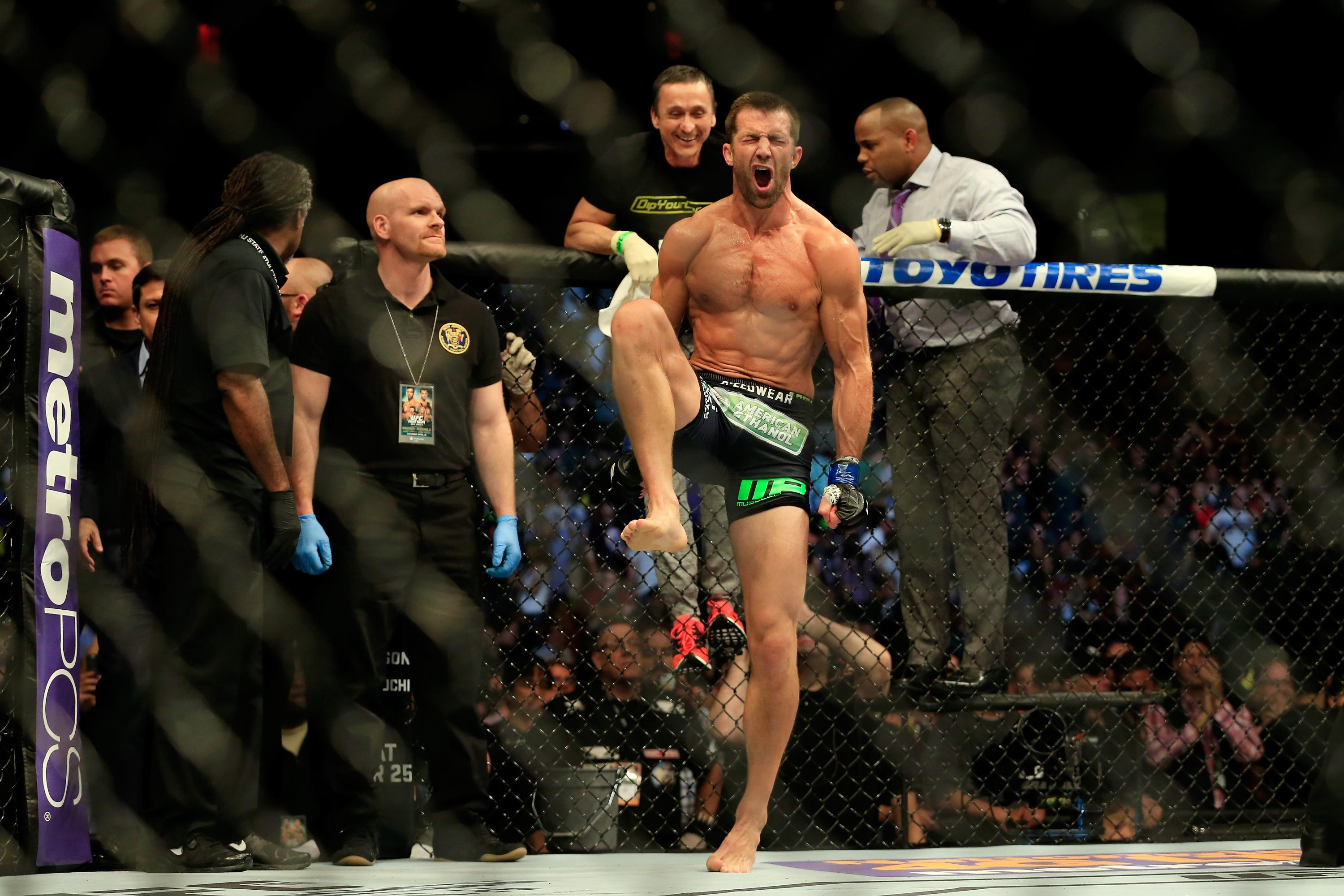 Luke Rockhold vaults into title picture with win over Lyoto Machida