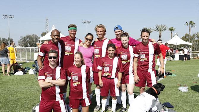 attend the LAFEST LA Film and Entertainment Soccer Tournament, on Sunday, March 24, 2013 in Carson, California. (Photo by Todd Williamson/Invision for THR/AP Images)
