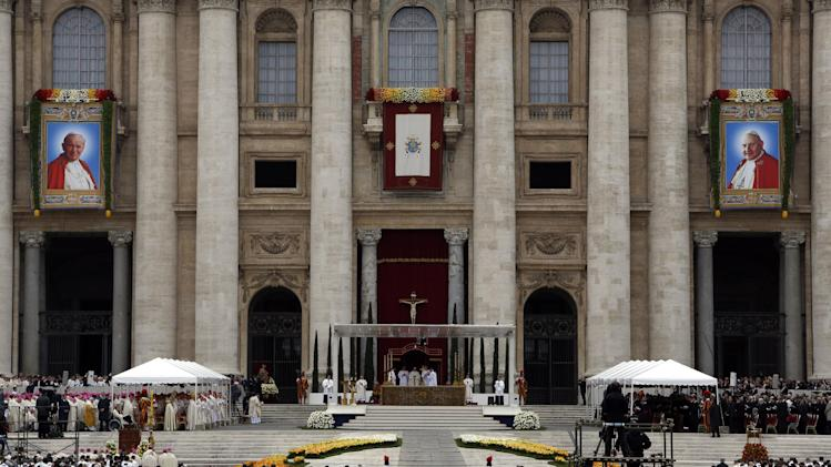 Pope Francis Makes Pope John Paul II and John XXIII Saints