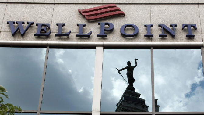 Insurer WellPoint's 4Q profit drops 68 percent