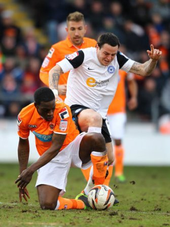 Soccer - npower Football League Championship - Blackpool v Peterborough United - Bloomfield Road