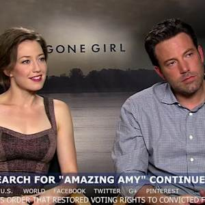 Ben Affleck says it isn't hard to keep secrets about 'Gone Girl' and that other movie