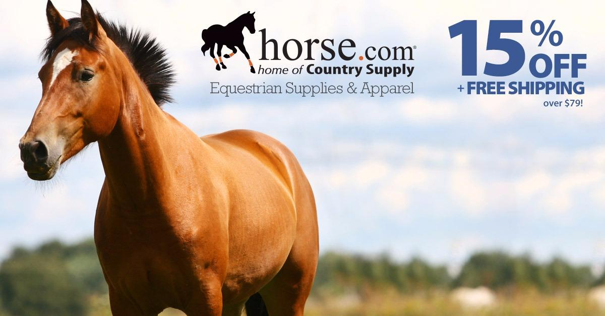 Horse.com - 15% Off + Free Shipping Over $79.