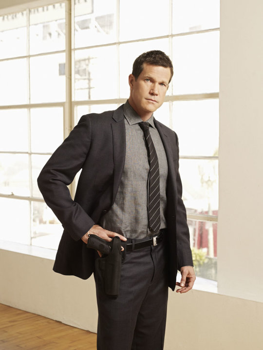 "Dylan Walsh stars as Det. Al Burns on ""Unforgettable."""