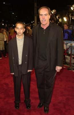 Premiere: Powers Boothe and son Preston at the LA premiere of Joe Somebody - 12/19/2001