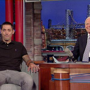 David Letterman - U.S. Soccer Team Captain Clint Dempsey on Fake Soccer Injuries