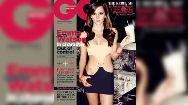 Emma Watson on the cover of British GQ -- British GQ/Mark Seliger