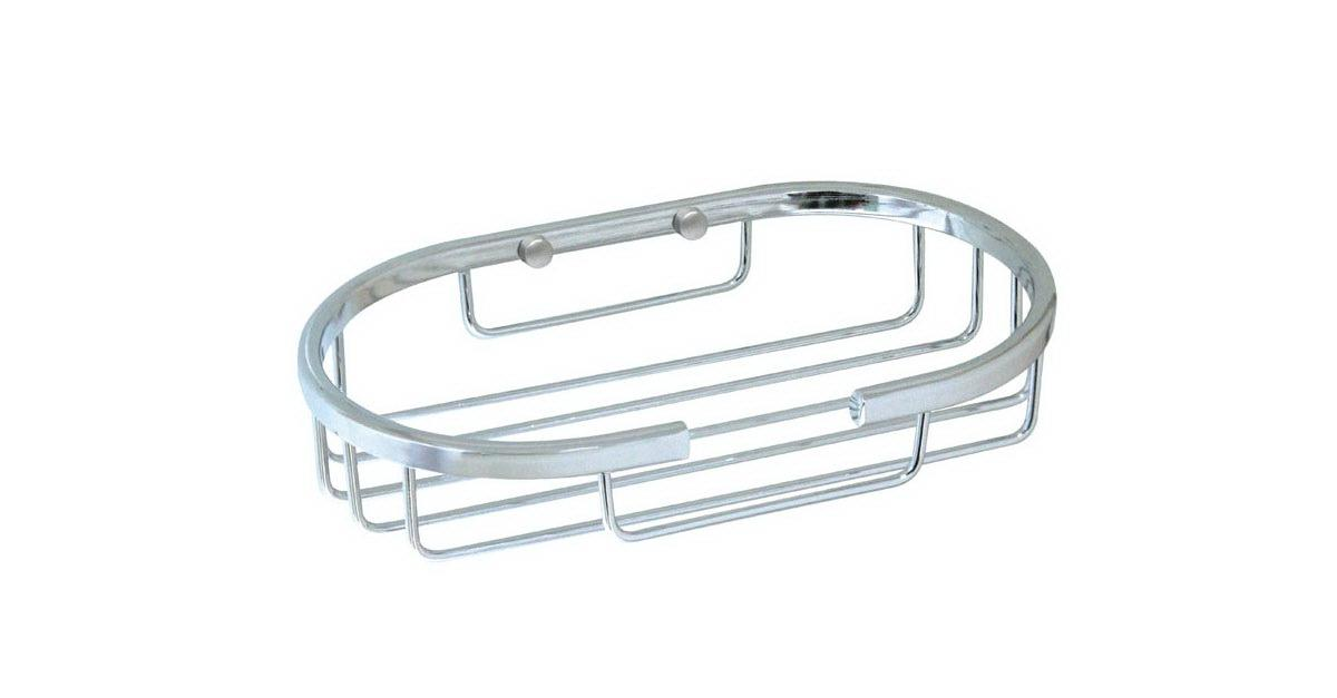 NEW Stainless Steel Oval Soap Basket $ 8.99