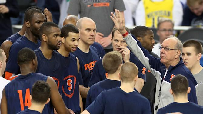 NCAA Basketball: NCAA Tournament-Syracuse Practice