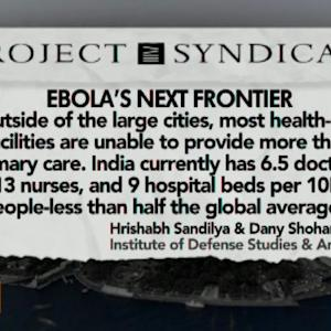 How Prepared Is India for an Ebola Virus Outbreak?