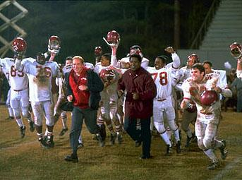 Based on a true story, Walt Disney Pictures' Remember the Titans (2000) follows the events that took place in Alexandria, Virginia in 1971 when African-American football coach Herman Boone (Academy Award?-winner Denzel Washington ) was hired to guide an integrated but racially polarized high school team
