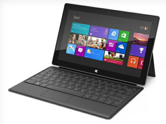 Microsoft tablette tactile Windows 8 Surface
