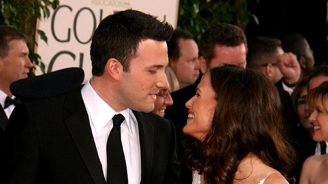 Jennifer Garner and Ben Affleck  at he 64th annual Golden Globe Awards.