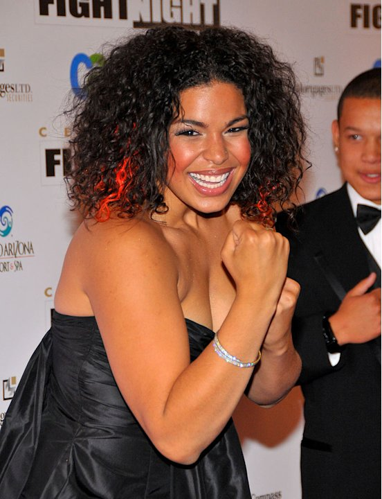 Jordin Sparks arrives to Muhammad Ali's Celebrity Fight Night XIV at the JW Marriott Desert Ridge Resort &amp; Spa on April 5, 2008 in Scottsdale, Arizona. 