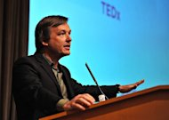 TED curator Chris Anderson speaks at The 2011 Tribeca Film Festival in 2011 in New York. Technology, art and magic will mix in perspective-bending ways this week as the prestigious TED conference continues transforming from an elite retreat to a global movement for a better world