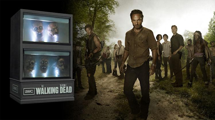 Coolest TV-on-DVD packaging: The Walking Dead