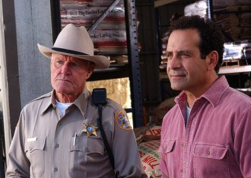 Charles Napier and Tony Shalhoub USA Network's Monk