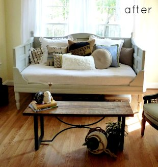Wood Doors to Daybed