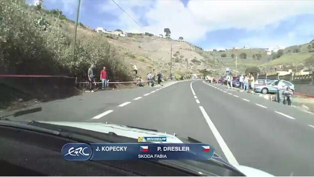 On board with Kopecky at Canary Islands shakedown