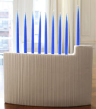 The Jonathan Adler Relief Menorah