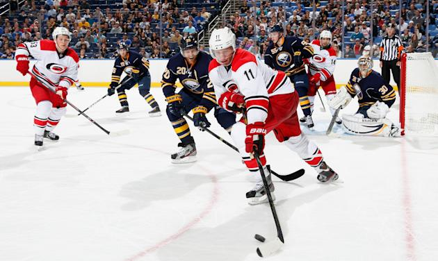 Carolina Hurricanes v Buffalo Sabres