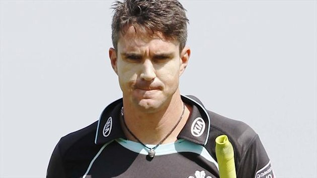 Kevin Pietersen, Surrey, August 19 2012 (Reuters)