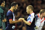 Britain&#39;s midfielder Ryan Giggs (L) comes on as a substitute for striker Craig Bellamy (R) during their London 2012 Olympic Games men&#39;s quarter-final football match against South Korea at the Millennium Stadium in Cardiff, Wales. Great Britain&#39;s first men&#39;s Olympic football tournament for more than 50 years ended in familiar fashion with an Englishman missing a penalty as they lost a shoot-out