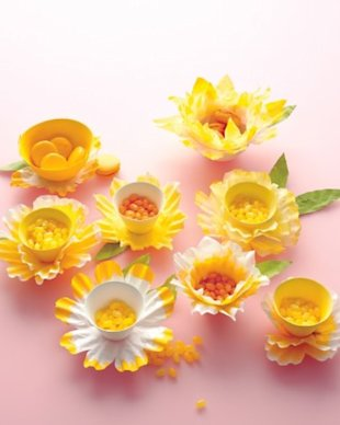 Daffodil Candy Dishes