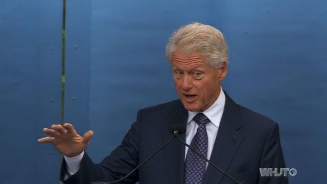 Bill Clinton delivers commencement address at Howard University