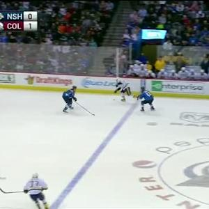 Semyon Varlamov Save on Mike Fisher (07:58/2nd)