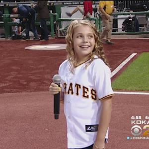 Beaver Co. Girl Knocks National Anthem Out Of The Park
