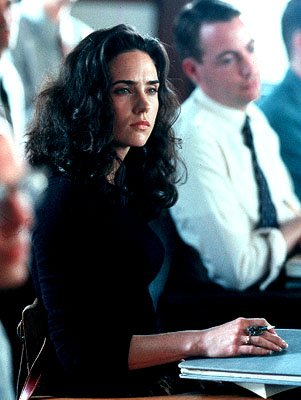 Jennifer Connelly as MIT student Alicia Larde in Universal's A Beautiful Mind