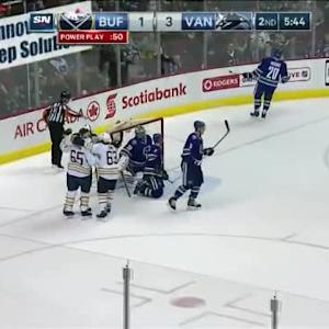 Chris Stewart Goal on Ryan Miller (14:16/2nd)