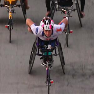 Paralympian aims to win New York City Marathon