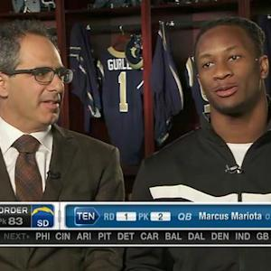 Todd Gurley: 'I'm excited to be the first running back taken'