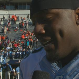 UNC QB Marquise Williams Talks Big Road Win Over UVA