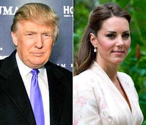 Donald Trump: Kate Middleton's Topless Photo Scandal Is All Her Fault