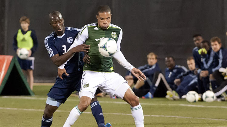 MLS: Preseason-Sporting KC vs Portland Timbers