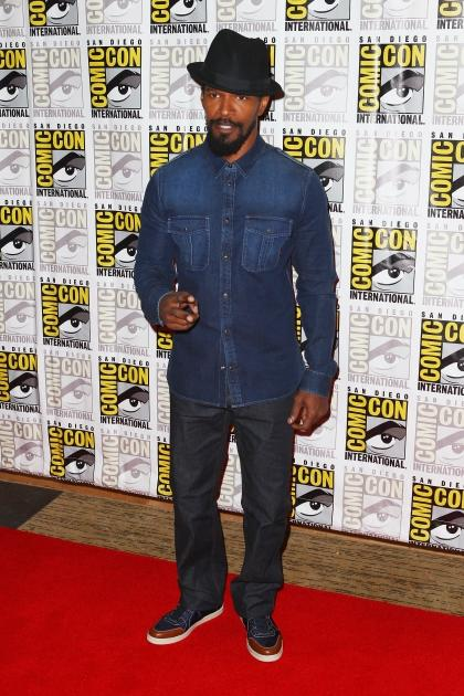 Jamie Foxx attends 'Django Unchained' at Comic-Con 2012 in San Diego on July 14, 2012 -- Getty Images