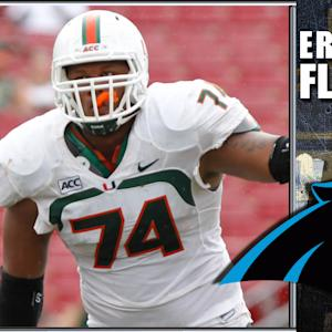 120 NFL Mock Draft: Carolina Panthers Select Ereck Flowers
