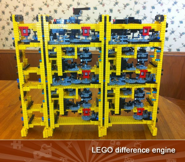 Lego difference engine