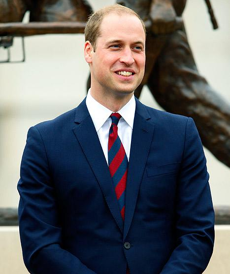 "Prince William on Birth of Son: ""We Could Not Be Happier"""