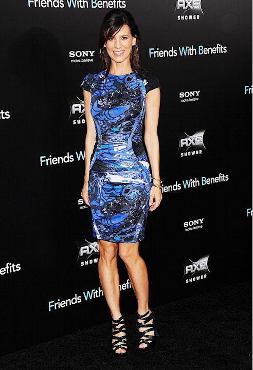 Friends with Benefits 2011 NY Premiere Perrey Reeves