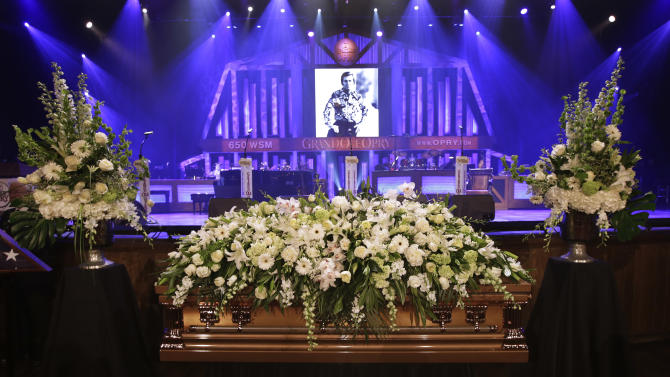 Music City mourns country legend George Jones